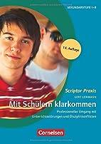Scriptor Praxis - Unterrichten: Mit…