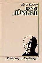 Ernst Jünger (Campus Einführungen)…