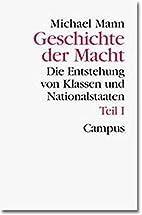 Geschichte der Macht, 3 Bde. in 4 Tl-Bdn.,…