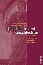 Geschichte und Geschlechter by Karen…