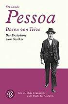 Baron von Teive: Die Erziehung zum Stoiker…