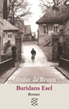 Buridans Esel by Günter de Bruyn
