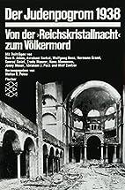 Der Judenpogrom 1938 by Walter H. Pehle