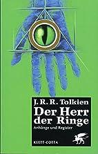 Der Herr der Ringe. Ausgabe in neuer…