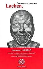 MERKUR Sonderheft 2002: Lachen. Über…