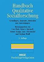 Handbuch Qualitative Sozialforschung by Uwe…