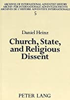 Church, State, and Religious Dissent: A…
