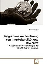 Programme zur Förderung von…