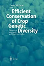 Efficient Conservation of Crop Genetic…