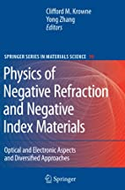 Physics of Negative Refraction and Negative…