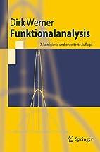 Funktionalanalysis by Dirk Werner