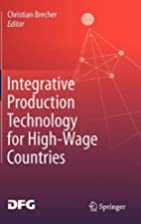 Integrative Production Technology for…