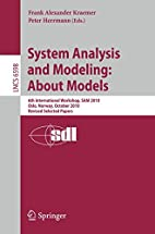 System Analysis and Modeling: About Models:…