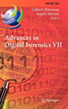 Advances in Digital Forensics VII: 7th IFIP…