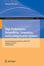 High Performance Networking, Computing, and…