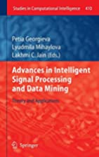 Advances in Intelligent Signal Processing…