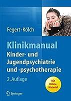 Klinikmanual Kinder- und Jugendpsychiatrie…