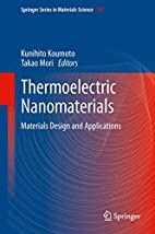 Thermoelectric Nanomaterials: Materials…