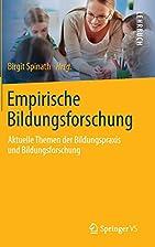 Empirische Bildungsforschung aktuelle Themen…
