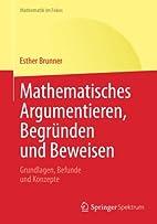 Mathematisches Argumentieren, Begründen…