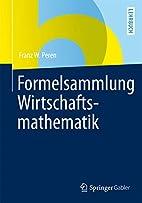 Formelsammlung Wirtschaftsmathematik (German…