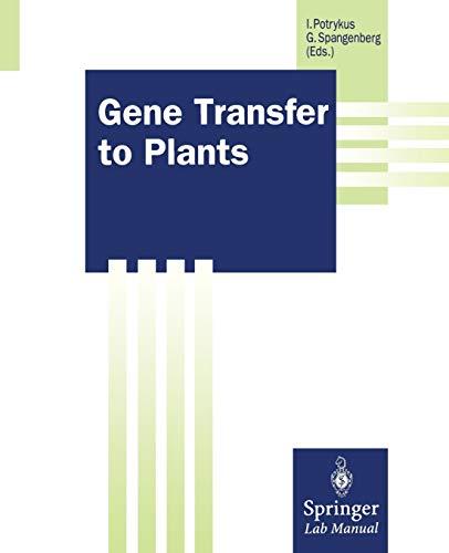 gene-transfer-to-plants-springer-lab-manuals