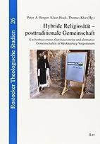 Hybride Religiosität - posttraditionale…