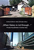 When Salary is not Enough...: Private…