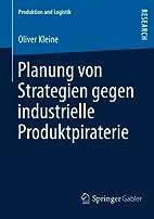 Planung von Strategien gegen industrielle…