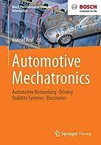 Automotive Mechatronics: Automotive…
