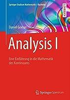 Analysis I Eine Einführung in die…