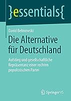 Die Alternative für Deutschland:…