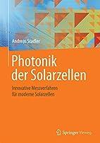 Photonik der Solarzellen: Innovative…