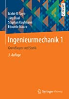 Ingenieurmechanik 1 by Mahir B. Sayir