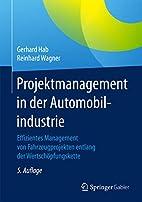 Projektmanagement in der Automobilindustrie:…