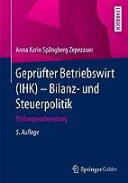 Geprüfter Betriebswirt (IHK) - Bilanz- und…