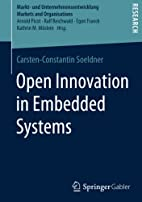 Open Innovation in Embedded Systems (Markt-…
