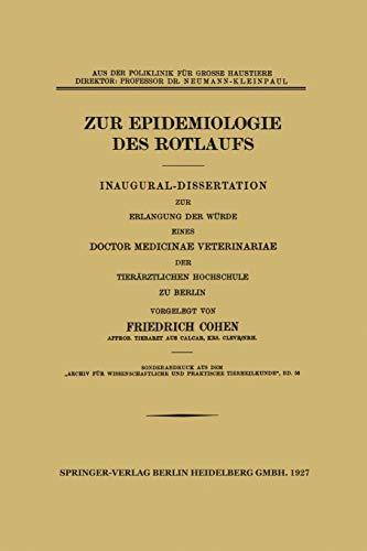 zur-epidemiologie-des-rotlaufs-inaugural-dissertation-german-edition