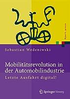 Mobilitätsrevolution in der…