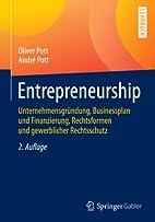 Entrepreneurship (Springer-Lehrbuch) by…