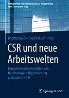 CSR und neue Arbeitswelten:…
