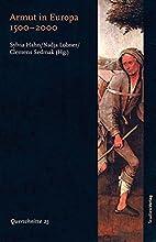 Armut in Europa 1500-2000 by Sylvia Hahn