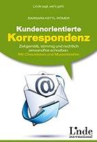 Kundenorientierte Korrespondenz:…
