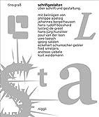 Tino Graß: Schriftgestalten (German…