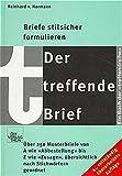 Reinhard von Normann: Der treffende Brief. treffendreihe