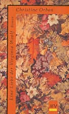 Eine Liebe der Virginia Woolf by Christine…