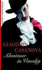 Abenteuer in Venedig by Giacomo Girolamo…