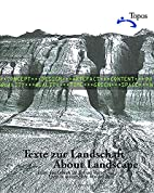 About Landscape: Essays on design, style,…