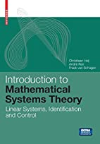 Introduction to Mathematical Systems Theory:…