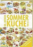 Sommerküche von A - Z by Dr. Oetker